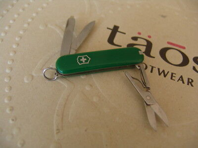 Small Swiss Army Green Used Pocket Knife Free Postage