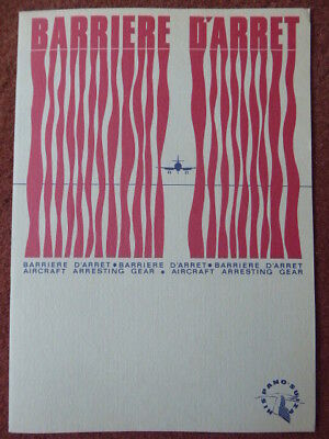 1967 Brochure Pub Hispano-Suiza Barriere D'arret Aircraft Arresting Gear Mirage