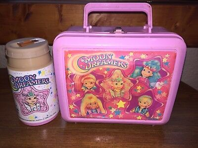 Moon Dreamers 1987 Hasbro Lunchbox And Thermos Aladdin