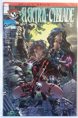 Elektra / Cyblade - Devil´s Reign Chapter 7 - Image Comics - 1997 - David Finch