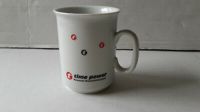 time power Kaffeetasse Kaffeebecher Sammeltasse