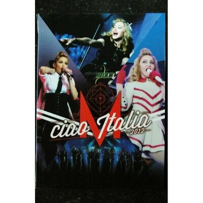 Ciao Italia 2012 Tour Madonna 138 Pages