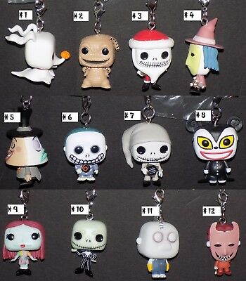 The Nightmare Before Christmas Mystery Funko Pocket Pop! Keychain - Pick Fig #