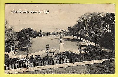 Guernsey - Candie Grounds - Tozers 112 Postcard - 1906