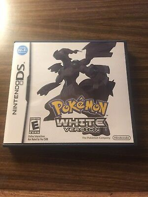 Pokemon: White Version (Nintendo DS) Authentic - Manual and Case only No Game