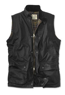 NWT BARBOUR Sylkoil Waxed Cotton Quilted New Westmorland Vest/Waistcoat sz XXL