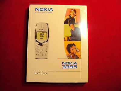 Nokia 3395 User Guide Instruction Manual (Sealed in Plastic)