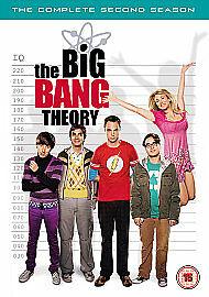 The Big Bang Theory - Series 2 - Complete (DVD, 2009, 4-Disc Set) new freepost
