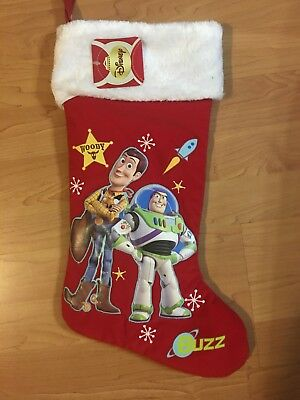 Toy story woody And Buzz christmas Stocking