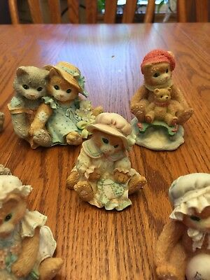 Lot Of 10 Calico Kittens By Enesco