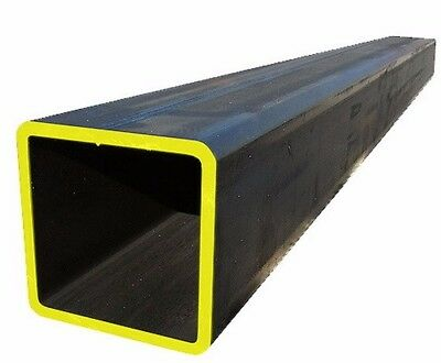 """1 1/4"""" x 1 1/4"""" x 1/8"""" STEEL  SQUARE TUBE 6PC 12 INCHES LONG"""
