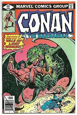 Conan the Barbarian #104 (Marvel, 1979) – Vale of Lost Women! – VF/NM