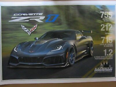 2019 C7 ZR-1 Kerbeck Poster With Specifications