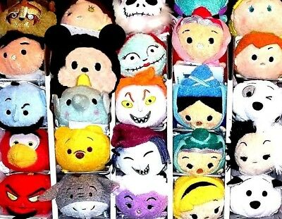 "TSUM TSUM Mini 3.5"" Plush - NEW NWT Choice U CHOOSE MARVEL DISNEY STAR WARS NBC"