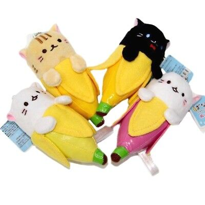 BANANYA KITTY Plush Toy BANANA Cat Key-Chain Anime from Hot Topic