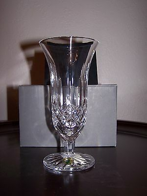 "Waterford Crystal Lismore 7"" Footed Vase Number 146137 (Made In Ireland) New"