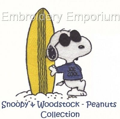 Snoopy & Woodstock - Peanuts Collection - Machine Embroidery Designs On Cd