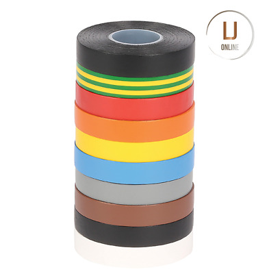 Electrical PVC Insulation Tape Quality Insulating Flame Retardant 19mm x 33m New