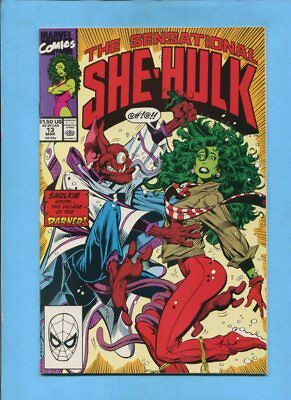 The Sensational She-Hulk #13 Marvel Comics March 1990