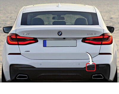 BMW F11 09-16 TOURING M SPORT REAR BUMPER TOW HOOK COVER PRIMED GENUINE NEW