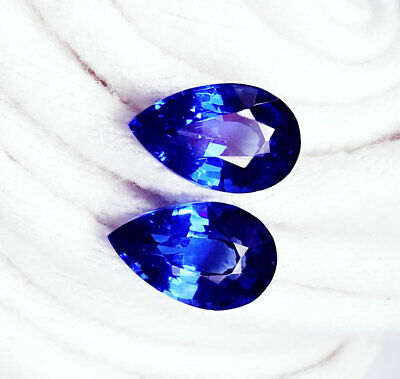 Natural Blue Sapphire Loose Gemstone 5 to 7 cts 2 Certified Pairs Best Offer