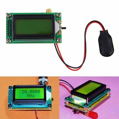 High Accuracy 1~500 MHz Frequency Counter Tester Measurement Meter NEW IS