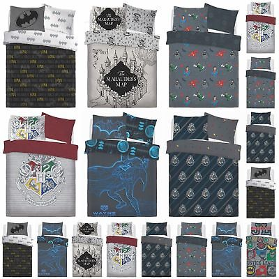 Novelty Junior Character Quilt Disney Kids Duvet Cover Superhero Bedding Set
