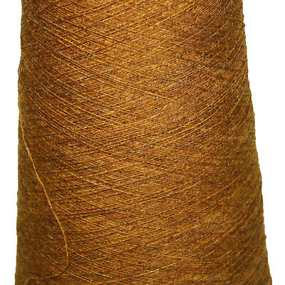 Shetland Weaving Yarn - Colour Golden Nugget - various cone weights