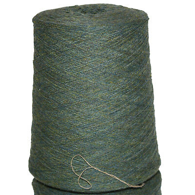 Shetland Weaving Yarn - Colour Lovat - various cone weights