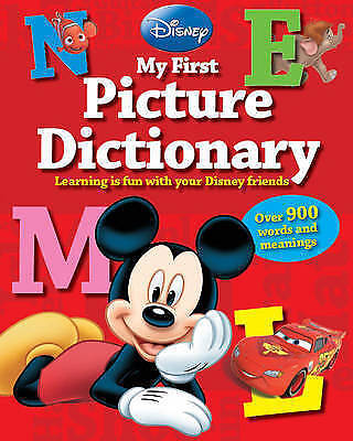 Disney My First Picture Dictionary: Over 900 Words and Meanings HB NEW Book