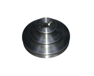 Small Aluminium 3 Step Pulley Stepped 42Mm / 30Mm / 18Mm With A 6 Mm Bore