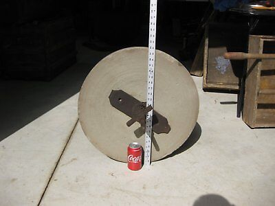Antique Grinding/Sharpening Stone Wheel