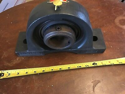 "NOS New Sealmaster Pillow Block Bearing 2-7/16"" MPD-39C Roller Seal Master 39"