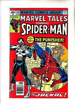 Marvel Tales 106 reprinting Amazing Spider-Man 129 1st Punisher