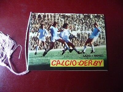 Calendarietto da barbiere Calcio Derby 1975