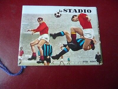 Calendarietto da barbiere LO STADIO 1970.
