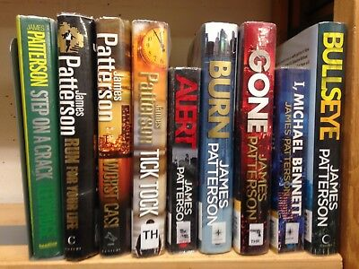 Michael Bennett series, by James Patterson: collection of 9 adult books