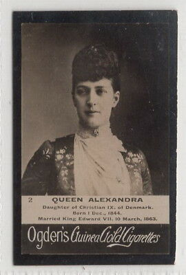 1901 Photograph Card of Alexandra of Denmark Queen of Great Britain & Ireland