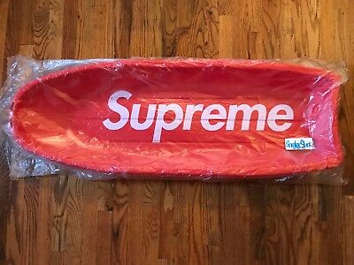FW17 Supreme Sled - Red Accessory Heavyweight Plastic Brand New Authentic BOGO