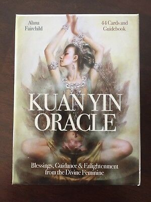 Tarot Cards Kuan Yin Oracle Blessings, Guidance & Enlightenment from the Devine