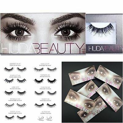 Huda Beauty Faux Cils Beauty Model Aux Choix/ False Eyelashes Voluminous