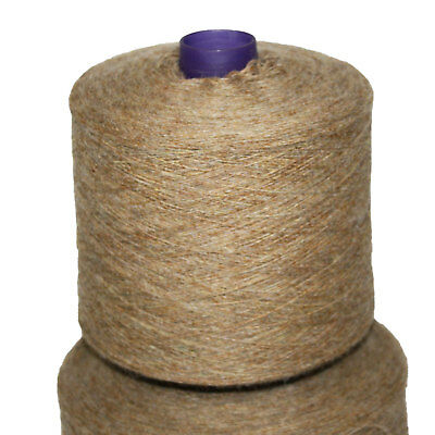 Shetland Weaving Yarn - Colour Bracken - various cone weights