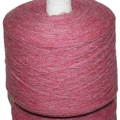 Shetland Weaving Yarn - Colour Azalea - 800 gram cone