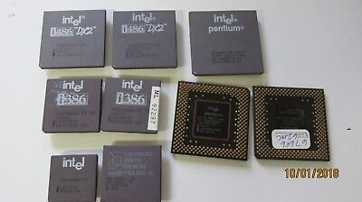 Intel Chips for Gold Scrap LOT