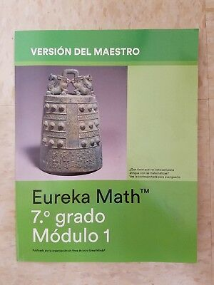 EUREKA MATH GRADE 7 Module 6 - Teacher Edition - $28 95