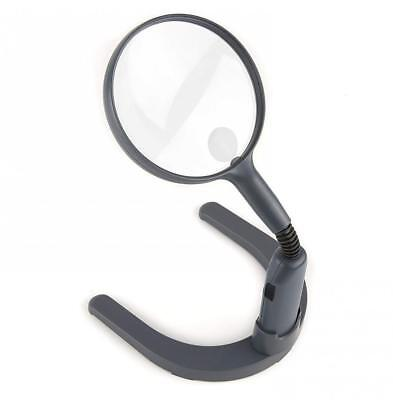 Carson MagniLamp LED Lighted 2x Hand Held or Hands Free Hobby Magnifier with...