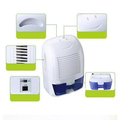 1Pc 1500ml Dehumidifier Mute Air Dryer Clothes Dryers Moisture Trap with UK Plug