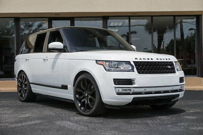 """Land Rover Range Rover 4WD 4dr HSE '14 Land Rover Range Rover V6 Supercharged,22""""Wheels,Meridian Sound,Adpt Cruise"""