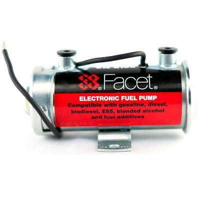 Facet Gold-Flo Cylindrical Electronic Fuel Pump, 40131, 24 V Solid State