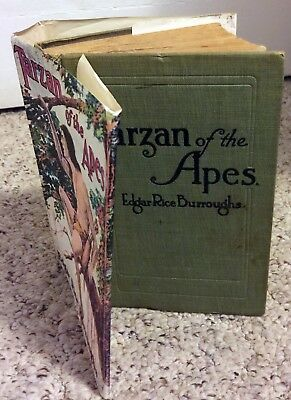 Tarzan of the Apes  by Edgar Rice Burroughs 1914  Edition